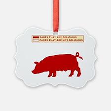 HUMOR PIG Ornament
