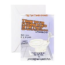 TYforFlushing Greeting Card