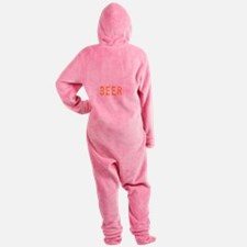 givemebeerdrk Footed Pajamas