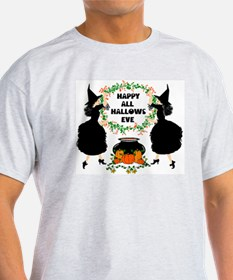 Hallows Eve Colorized Scaled T-Shirt