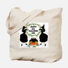 Hallows Eve Colorized Scaled Tote Bag