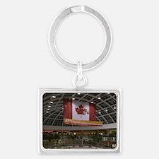 Edmonton: West Edmonton Mall (W Landscape Keychain