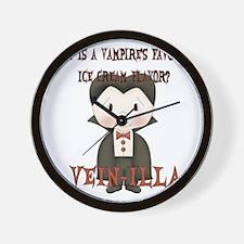 vampire_joke1 Wall Clock