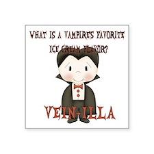 "vampire_joke1 Square Sticker 3"" x 3"""