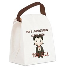vampire_joke1 Canvas Lunch Bag