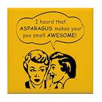 Asparagus Urine Tile Coaster