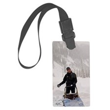 Soo Valley. Dog sled adventure.  Luggage Tag