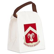 DUI-40th-Engineer-Battalion Canvas Lunch Bag