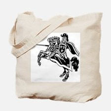 Mounted Knight Tote Bag