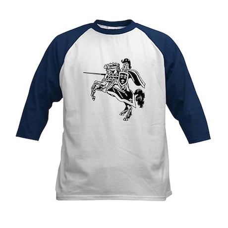Mounted Knight Kids Baseball Jersey