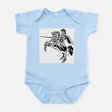 Mounted Knight Infant Bodysuit