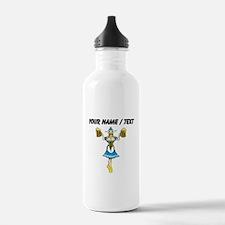Custom German Woman Beer Server Water Bottle