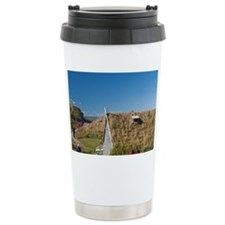 Replica of Norse churchd Labrad Travel Mug