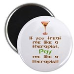 Bartender/Therapist Magnet