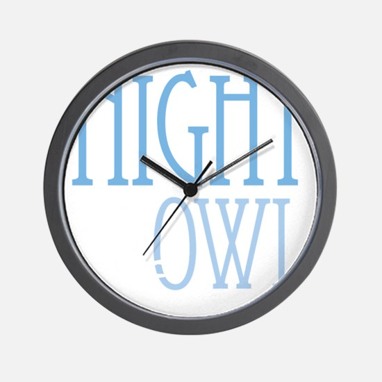 nightowldrk Wall Clock