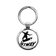 Jetway Skatepark Round Keychain