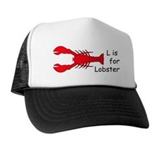L is for Lobster Trucker Hat
