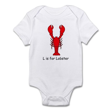 L is for Lobster Infant Bodysuit
