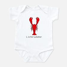 L is for Lobster Infant Bodysuit