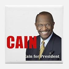 Beat Obama dark Tile Coaster