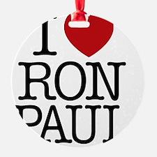 i_love_ron_paul Ornament