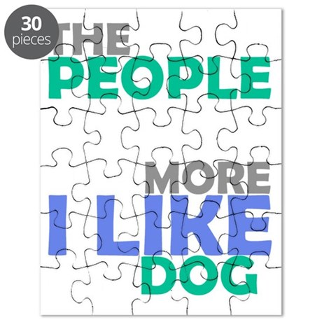 I like my dog light Puzzle