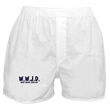 What Would Jack Do? Boxer Shorts
