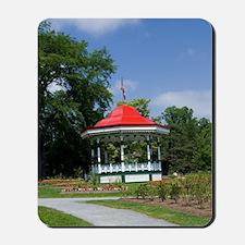 Historic Victorian city garden created i Mousepad
