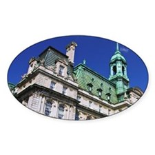 Montreal. View of City Hall buildin Decal