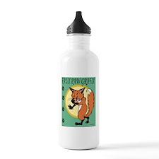 FauxPawLogo_full Sports Water Bottle
