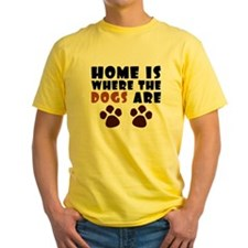Home where dogs are T