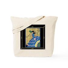 1 JAN LadyInBlue- BLK  Tote Bag