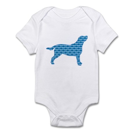 Bone Labrador Infant Bodysuit