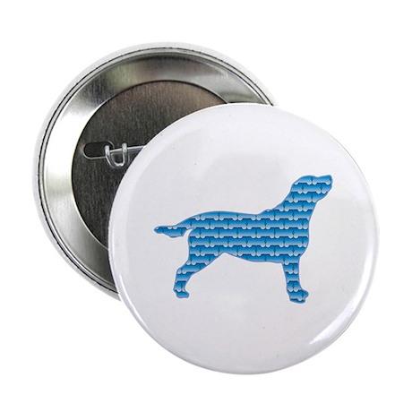 "Bone Labrador 2.25"" Button (10 pack)"