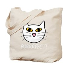 purrrfect light Tote Bag