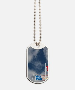 St. Anthony. Local flags Labrador, Newfun Dog Tags