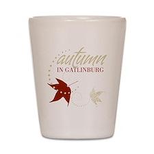 Gatlingburg_Black_Front Shot Glass
