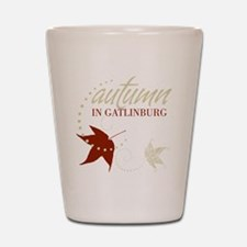 Gatlingburg_Black_Front Shot Glass