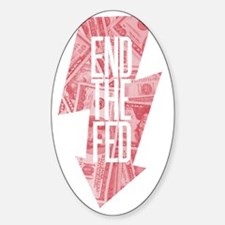 Endthefed Sticker (Oval)