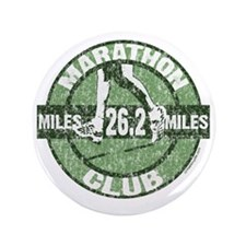 "Marathon Club - Green 3.5"" Button"