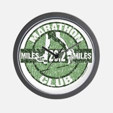 Marathon Club - Green Wall Clock