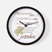Gatlingburg_White_Back Wall Clock