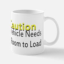 Caution Handicapped Mug