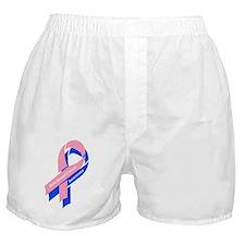 MBC Ribbon no bkg Boxer Shorts