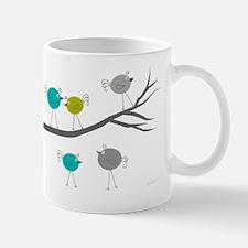 retro etsy birds on branch 35 Mug