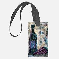 Wine Still Life Luggage Tag