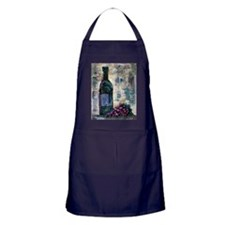 Wine Still Life Apron (dark)