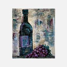 Wine Still Life Throw Blanket
