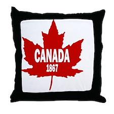Canada Since 1867 Throw Pillow