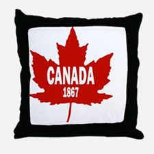 Canada Since 1867 Throw Pillow